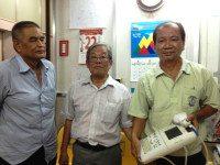 Medic tặng máy Siêu âm cho Chi Hội Lá Bồ Đề