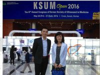 MEDIC tham dự Hội nghị Siêu âm Hàn Quốc 2016